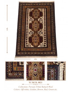INDO-PERSIAN TRIBAL BALUCH WOOL
