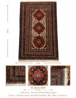 INDO-PERSIAN BALUCH TRIBAL WOOL