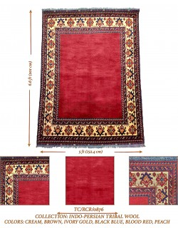 INDO-PERSIAN TRIBAL WOOL