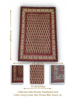 INDO-PERSIAN TRADITIONAL WOOL
